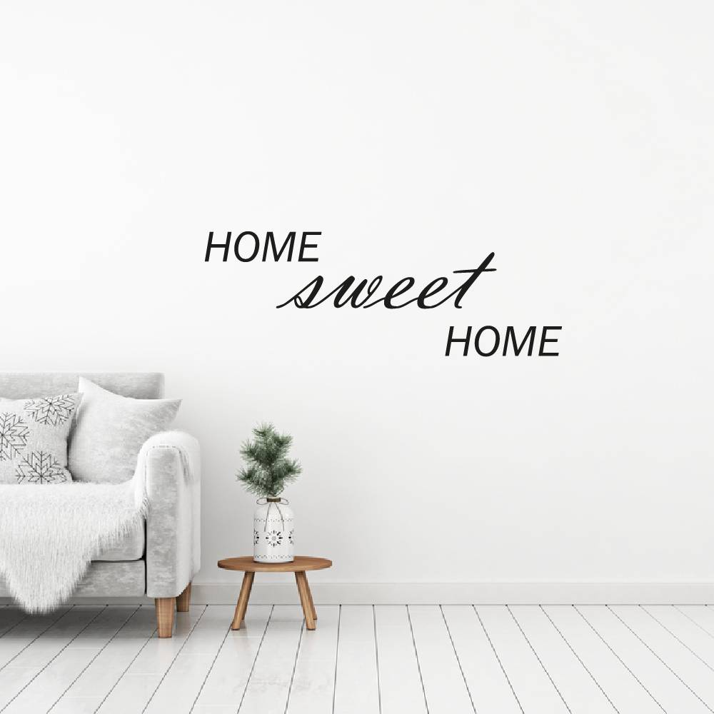 Home Sweet Home Muursticker4sale - Muurdecoratie Stickers