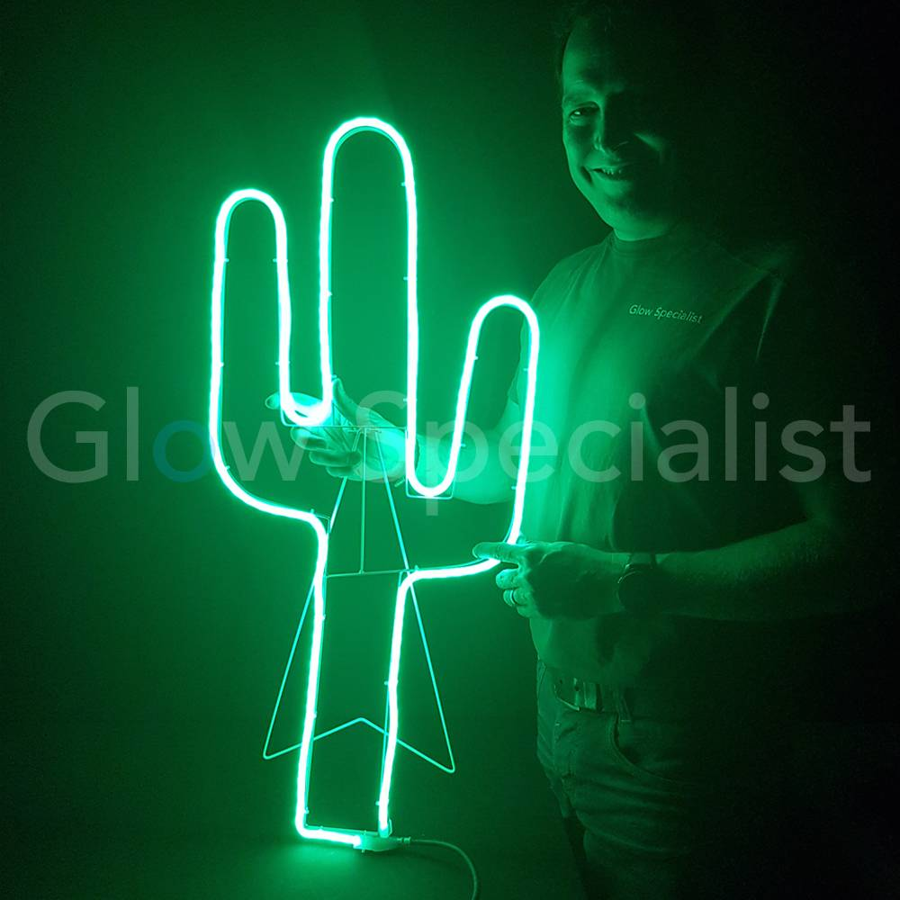 Led Verlichting Cactus Led Snake Light 180 Led Green Cactus Buy At Glow Specialist