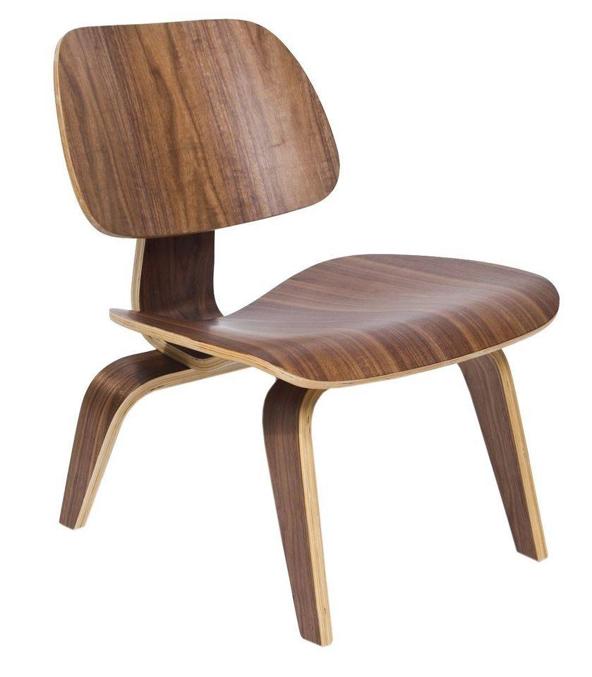 Eames Plywood Chair Eames Walnut Lounge Chair Lcw