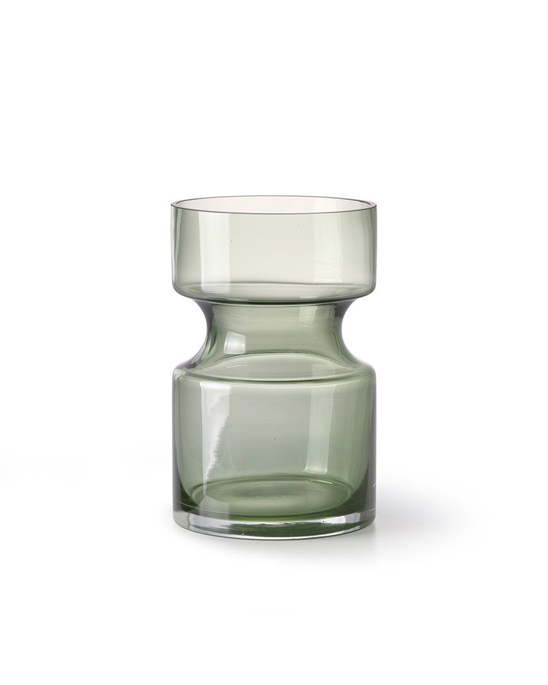 Green Glass Vase Small Heroes Kidsconceptstore