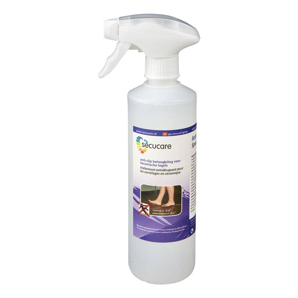 Badkamer 6 M Secucare Anti Slip Spray