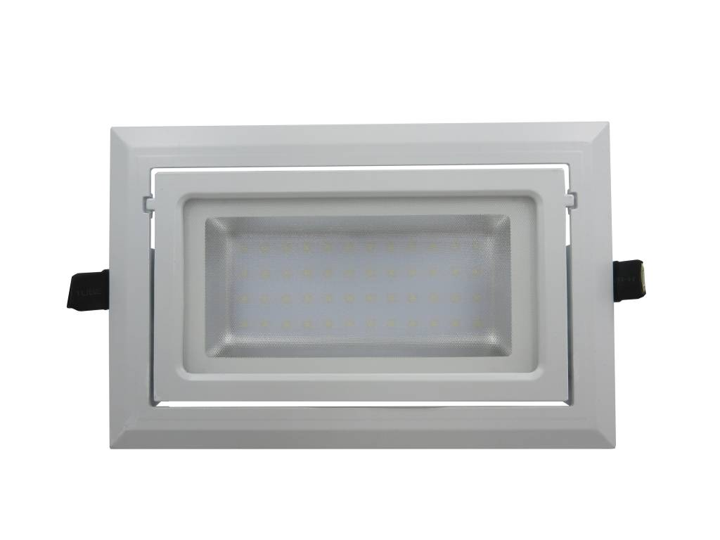 Spot A Encastrable Spot Encastrable Rectangulaire Led 40w Orientable Dimmable
