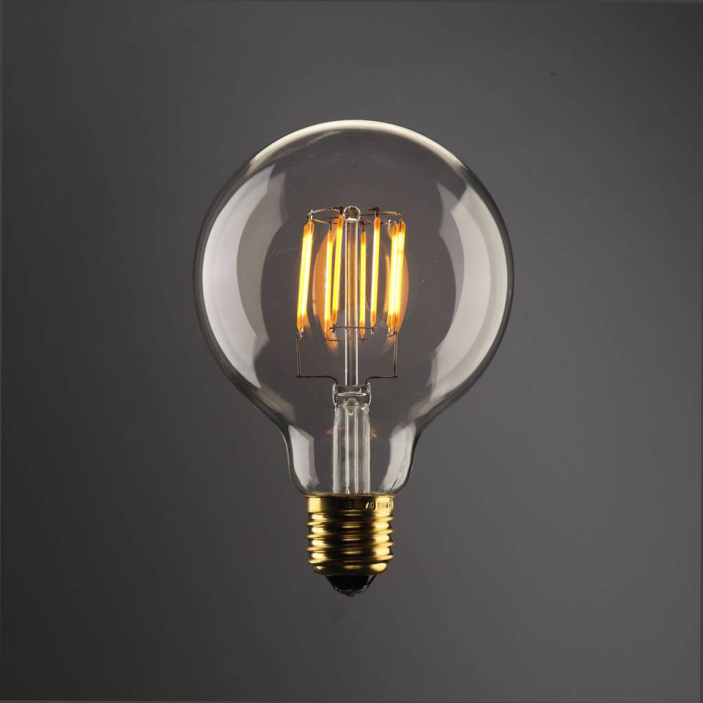 Led Lampen E27 Led Bulb Light Round 8w Filament E27 Dimmable Gold Colour