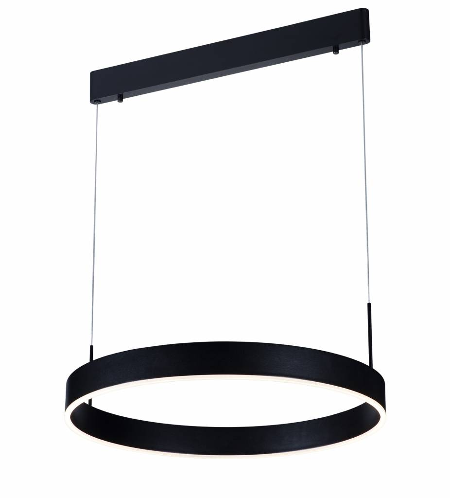 Hanglamp Led Design Pendant Light Design Round Brown Black White 22w 571mm