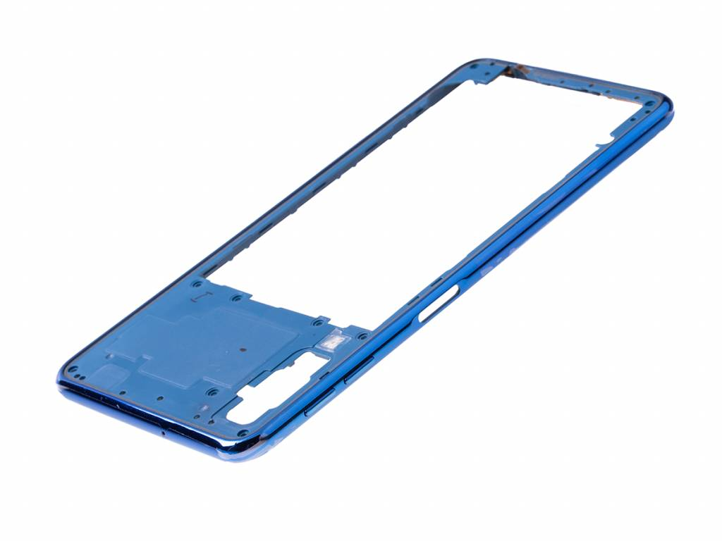 Nokia 2720 Libre Samsung A750fn Ds Galaxy A7 2018 Middle Cover Blue Gh98 43585d