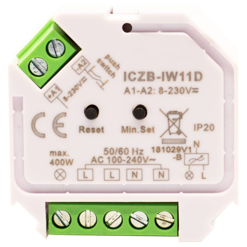 Led Dimmer Draadloos Icasa Dimmer Zigbee 3 Ac Dimmer
