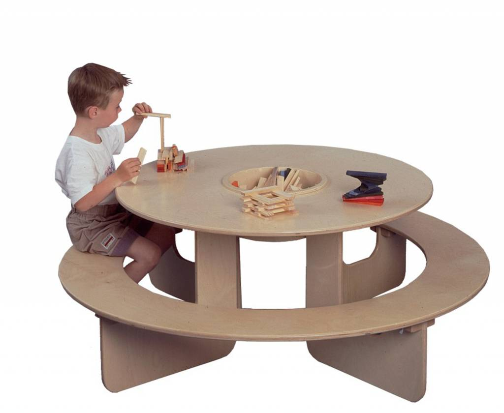 Table Arrondie Table Ronde Pour Enfant