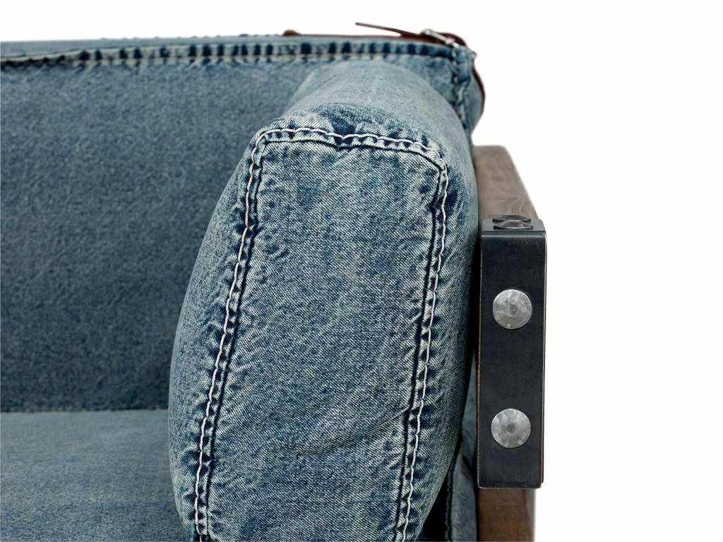 Industrie Sessel Sessel Im Industrie Design Aus Jeans Stoff