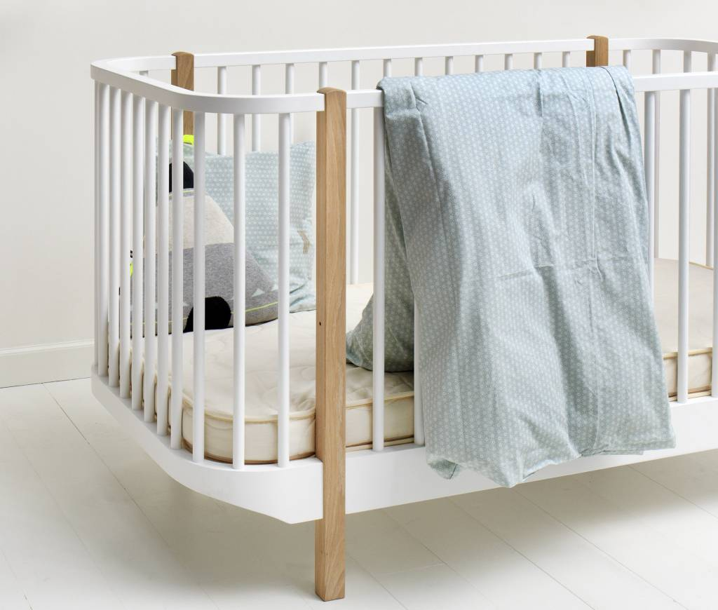 Kinderbett Baby Oliver Furniture Wood Collection Babybett Weiss Eiche Romy