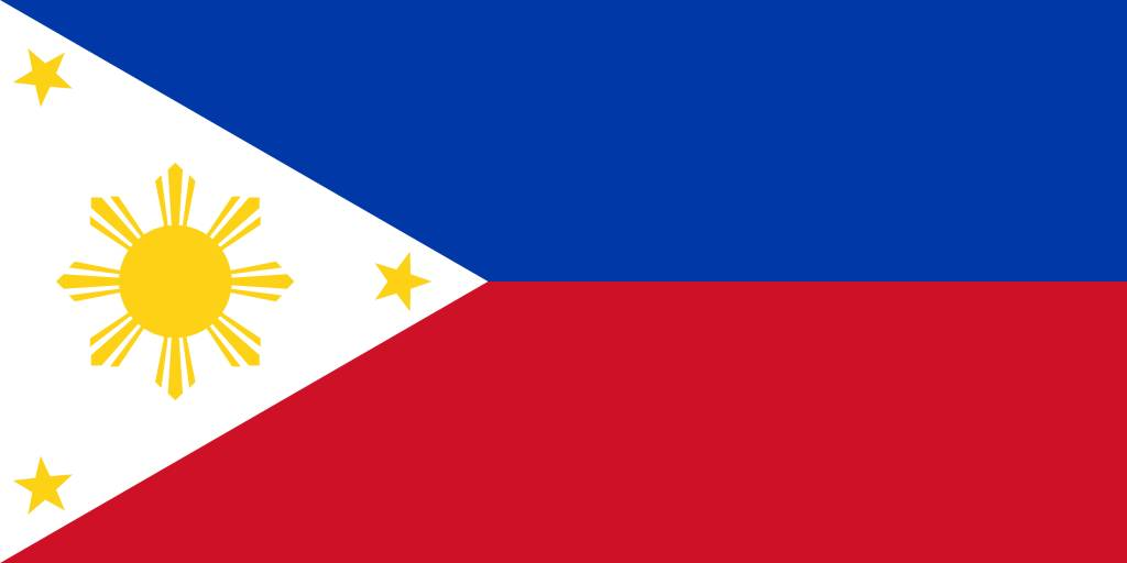 The Philippines flag clipart - country flags