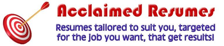 Resume Writers Hoffman Estates, Illinois Acclaimed Resumes Inc