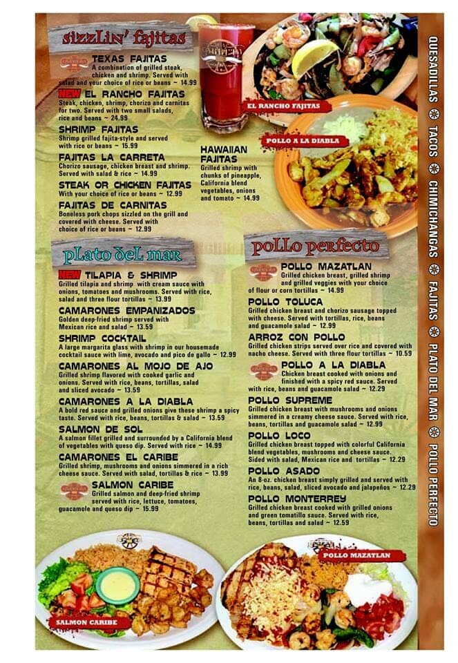 Mexican Food Merrillville, IN  Schererville, IN La Carreta