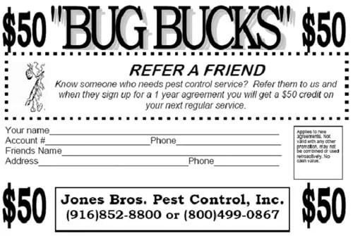 Pest Agriculture Services - Rancho Cordova, CA - Jones Bros Pest