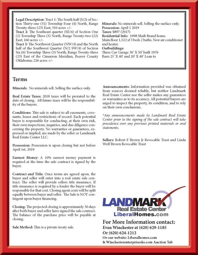 Auction Services Public Auction Liberal, KS