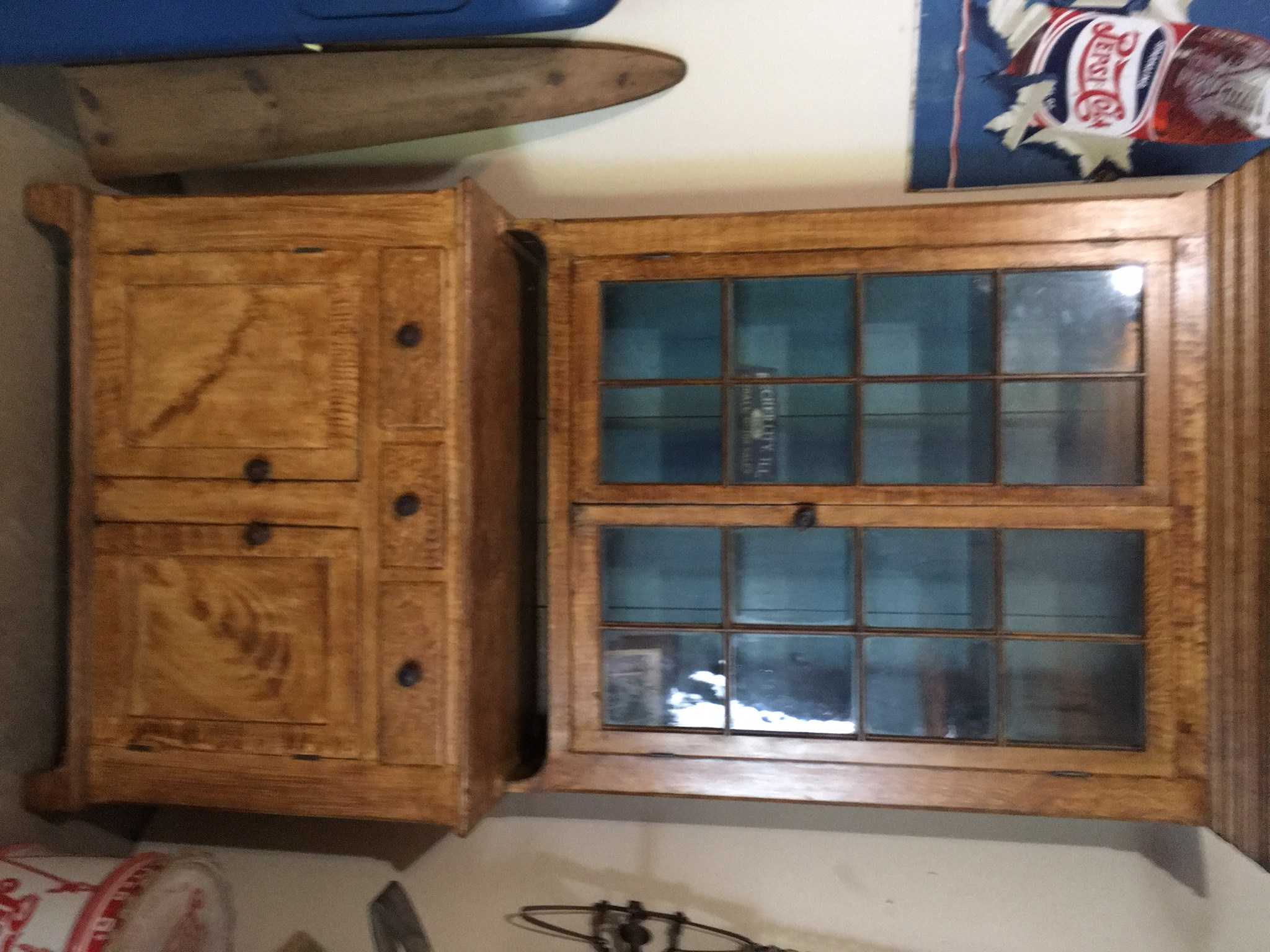 Victorian Oak Furniture Antiques Shumway Il