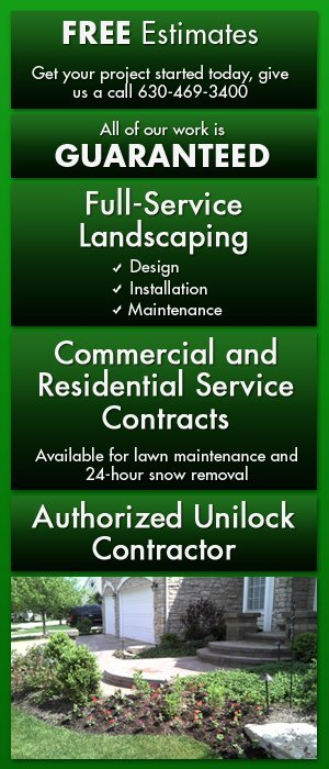 Landscaping, Hardscaping and Snow Removal Services Glen Ellyn, IL