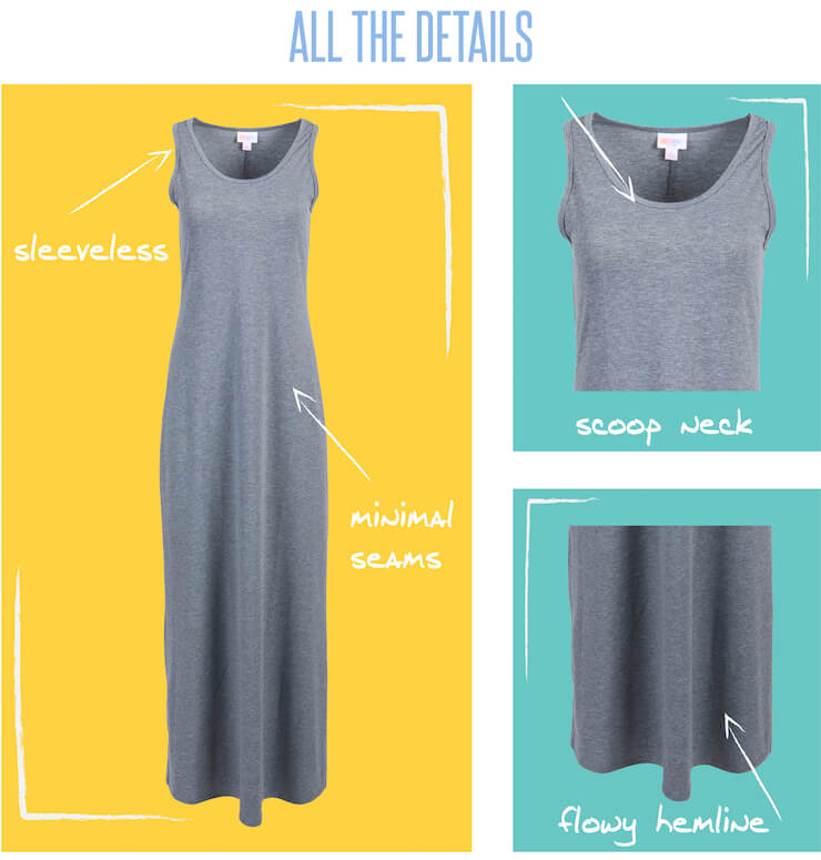 What to Wear With the LulaRoe Dani Dress