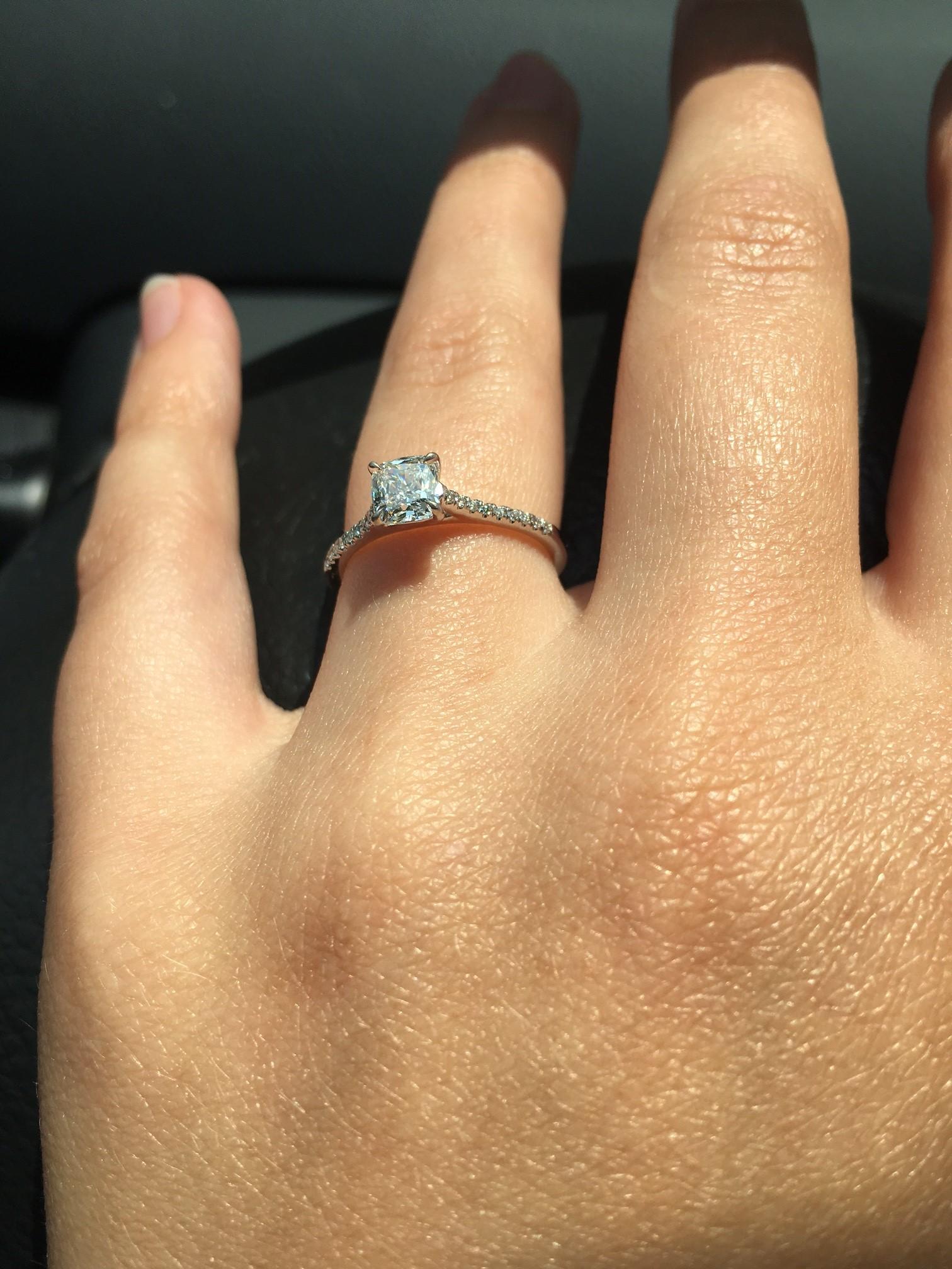 brilliant earth lissome ring size 5 25 brilliant earth wedding bands TRUST SCORE 0