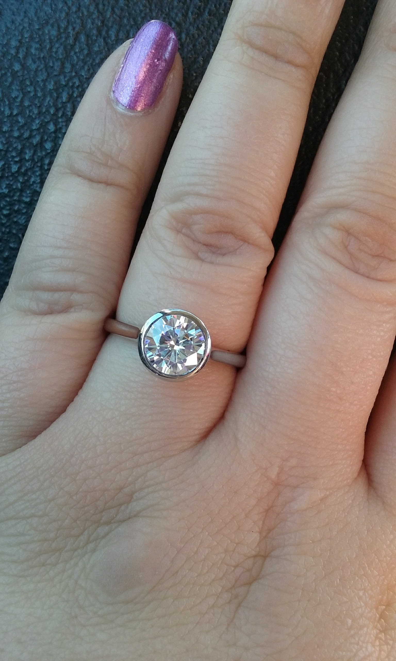 any luna or luna luxe rings from brilliant earth brilliant earth wedding bands Yay for bezel girls laughing