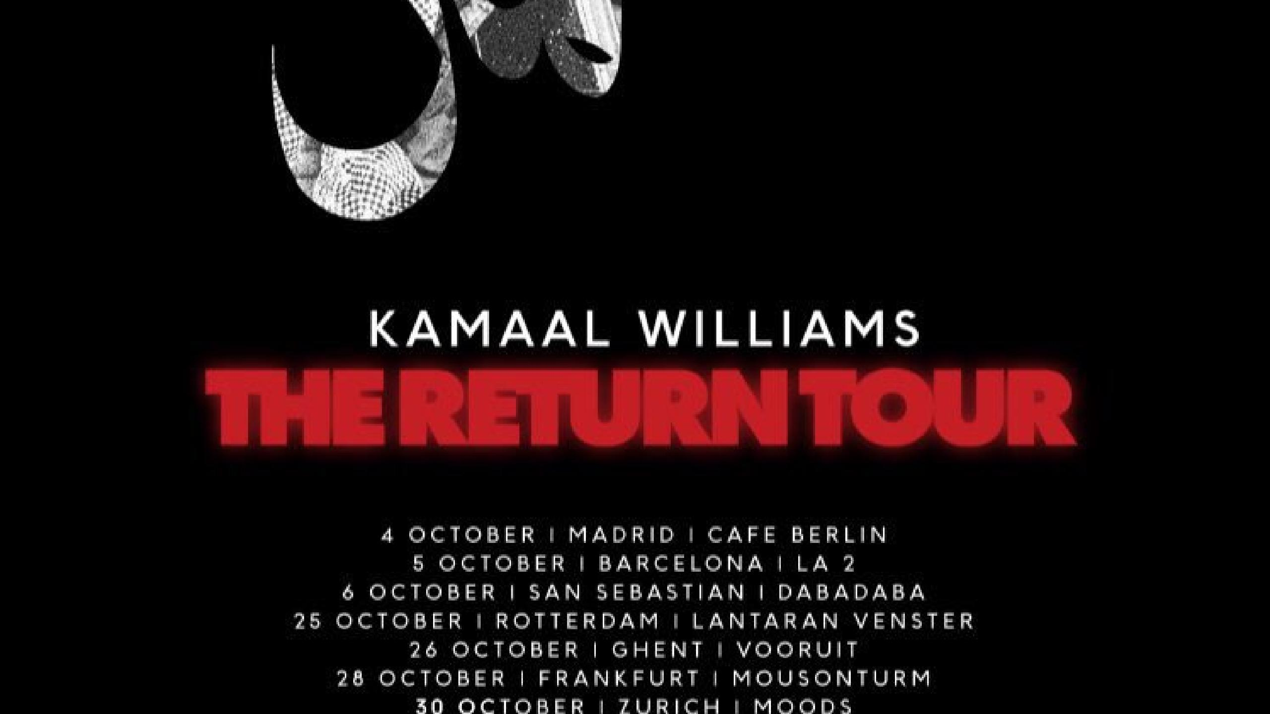 Arte Concert King Krule Kamaal Williams Concert In Madrid Tickets Cool Stage Thursday