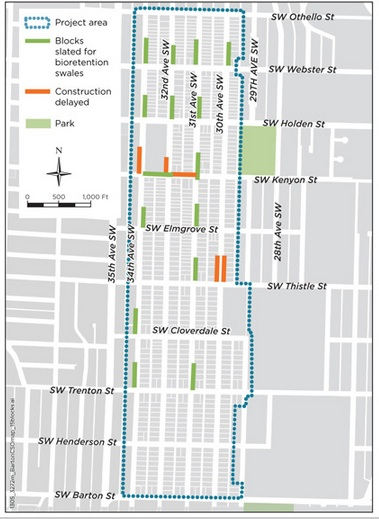 West Seattle Blog\u2026 Pre-construction meetings, survey for Westwood