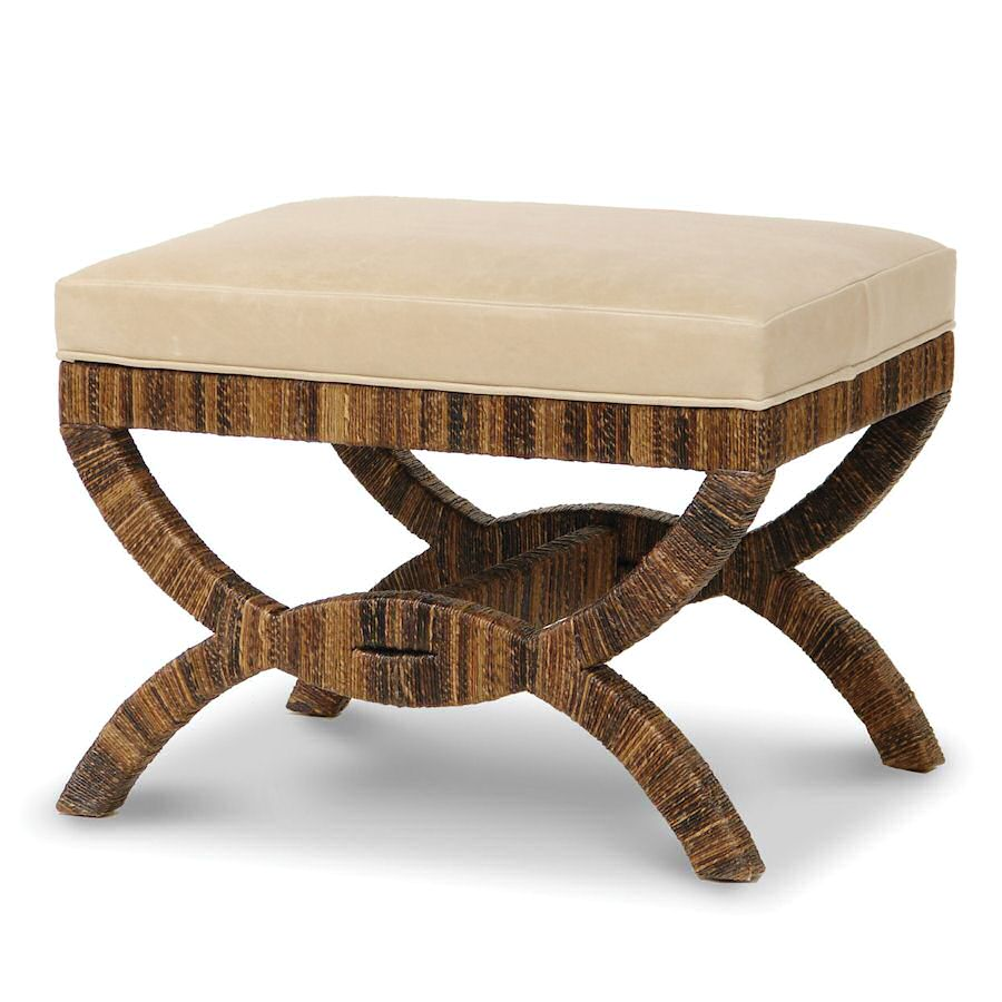 Rattan Benches Ottomans Wicker Benches