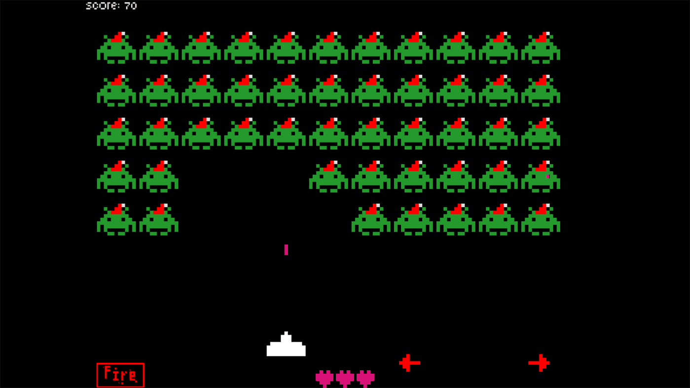 Fall Christmas Wallpaper Space Invaders For Windows 10 Windows 8 A Classic Game