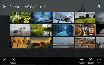 Download free HD wallpapers on Windows 10, 8 with this app