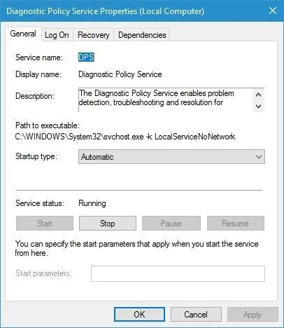 Diagnostics troubleshooting wizard has stopped working FIXED