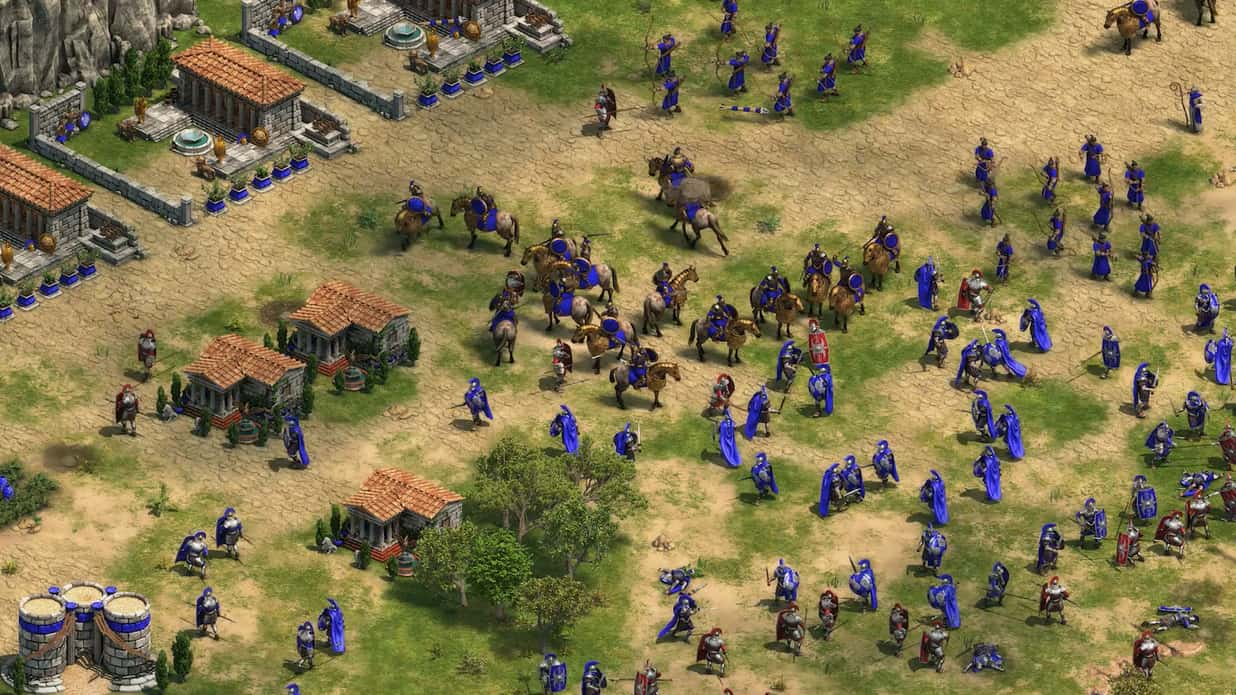 Free Fall Wallpaper For Android Age Of Empires Definitive Edition Release Date Delayed To