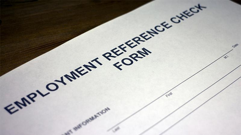 Employment verification Requirement or courtesy?