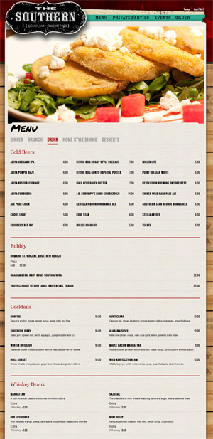 Why isn\u0027t your menu online?