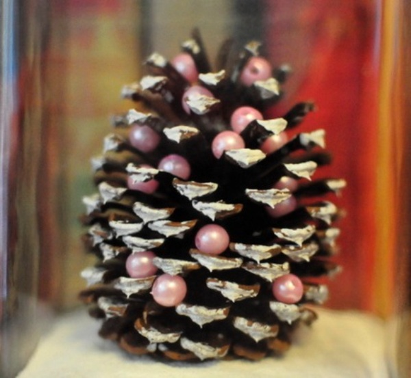 Deco Noel Pomme De Pin Wonderful Diy Mini Pine Cone Christmas Tree
