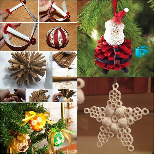 Wonderful DIY 30+ Homemade Christmas Ornaments