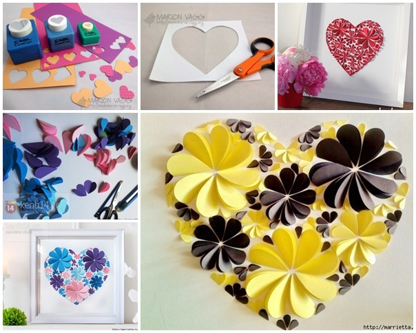 Delightful Diy Paper Flower Wall Art Free Guide And