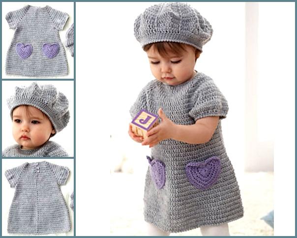 16 Beautiful Handmade Baby Gift Sets With Free Crochet