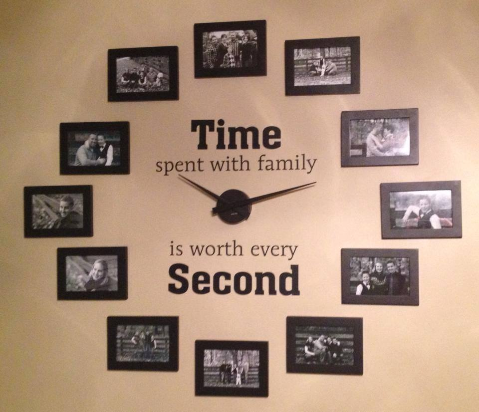 Riveting Gallery Family Photo Wall Clock Diy Familyphoto Wall Clock Diy Family Photo Wall Clock Easy To Read Wall Clocks Senior Citizens Easy To Read Wall Clock View furniture Easy To Read Wall Clock
