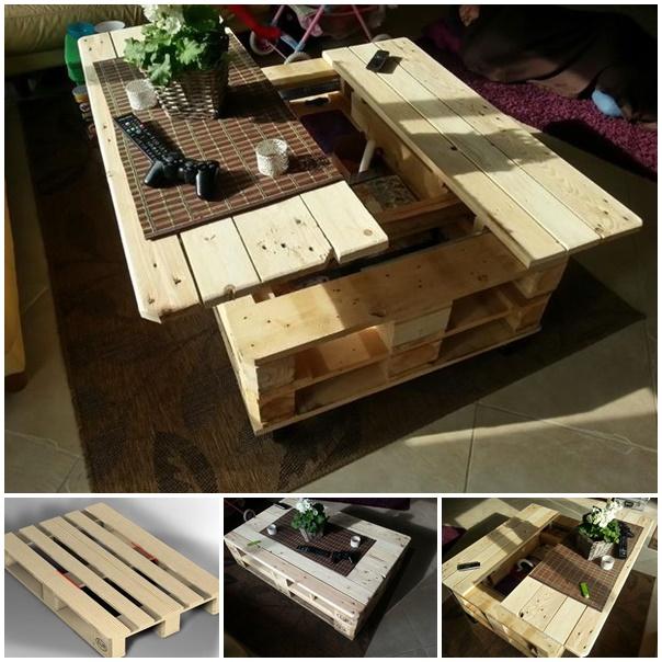 storage sofa table