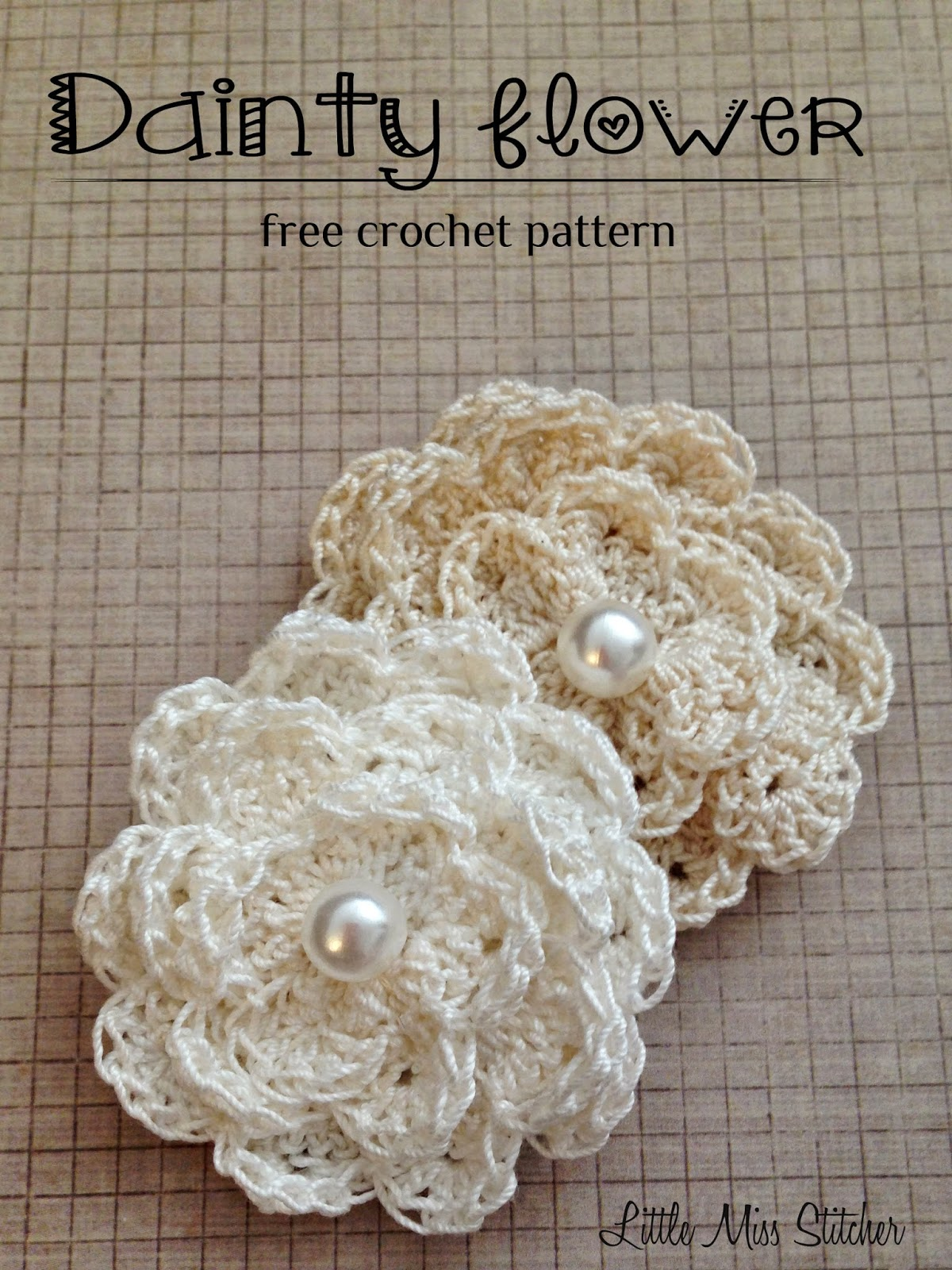 Giardino Yarn Dainty Diy Crochet Flowers With Free Pattern