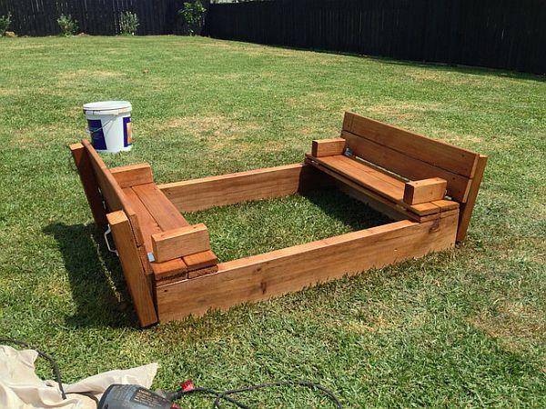Kids Diy Sandbox How To Make One In The Backyard