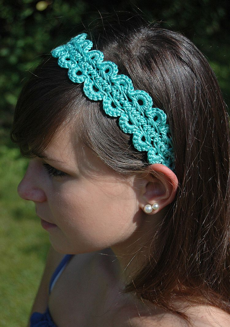 Make Up Hair Band Update Your Wardrobe With These Pretty Crochet Headbands