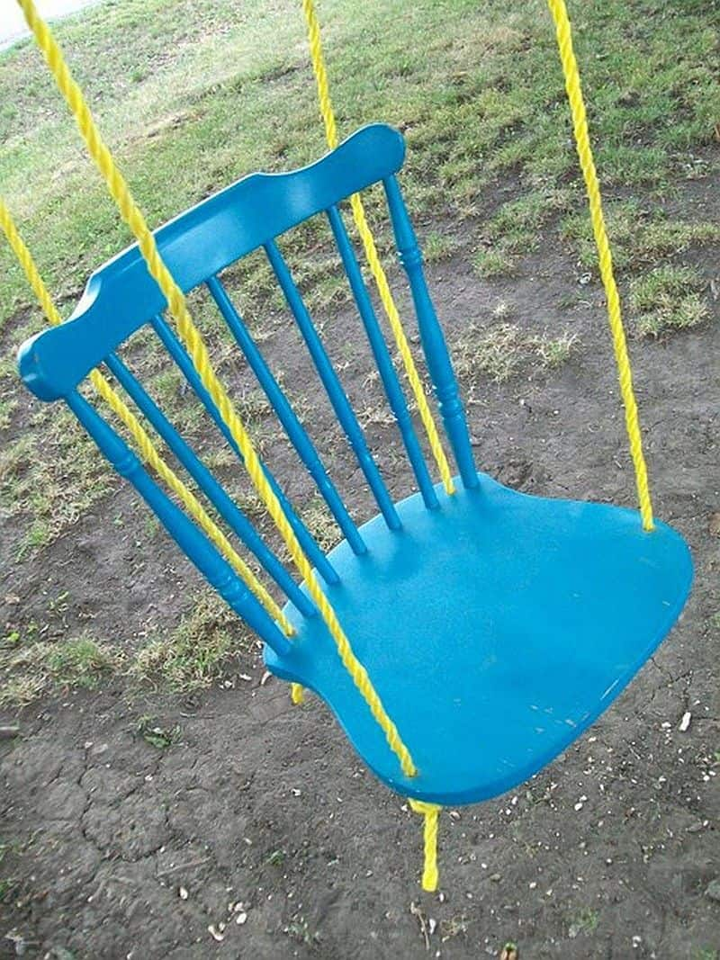 Baby Chairs To Sit Up Swing Nostalgia Away 10 Diy Swings For Kids And Adults
