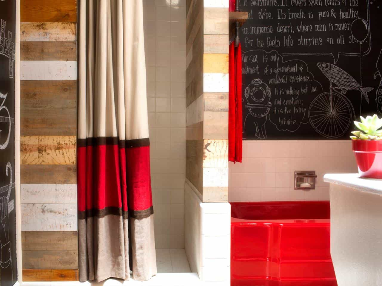 Red And Brown Shower Curtain Unique And Refreshing Bath Awesome Diy Shower Curtains