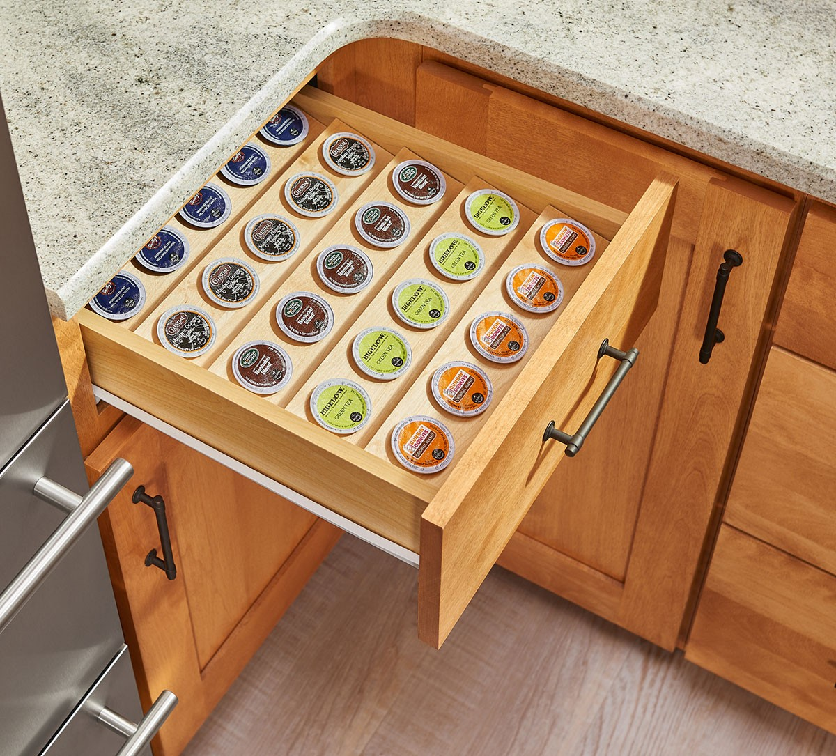 Cabinet Drawers K Cup Tray Insert For 18