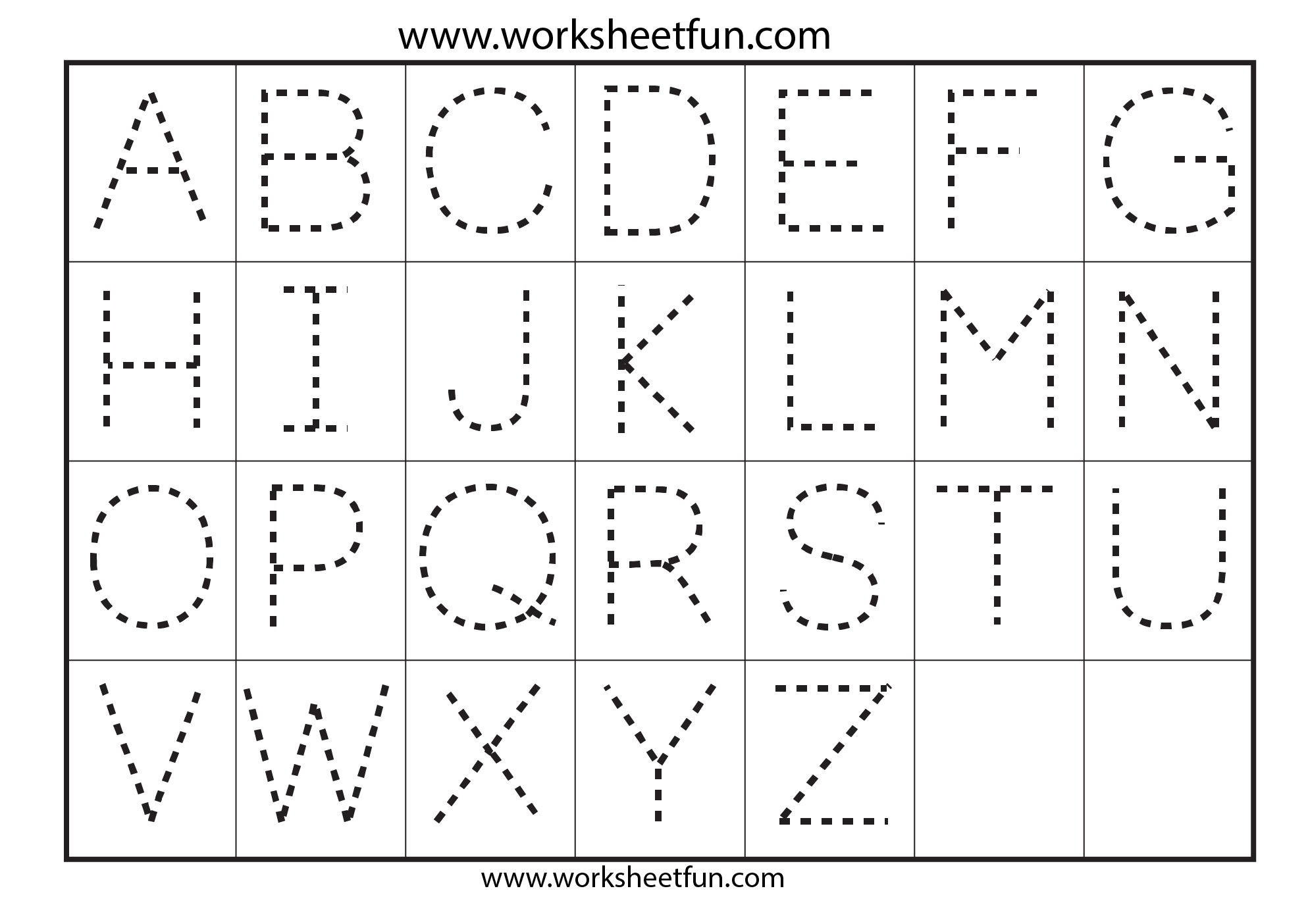 Worksheet Kindergarten Tracing Letters Wosenly Free Worksheet – Letter Tracing Worksheets for Kindergarten