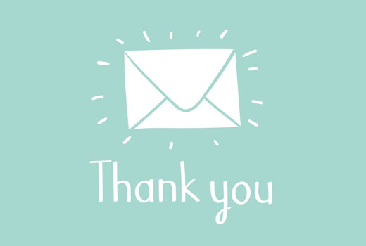 How to Send a Thank You Email to Blog Commenters in WordPress - thank you email