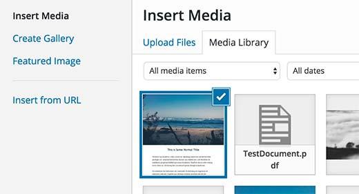 PDF Thumbnails