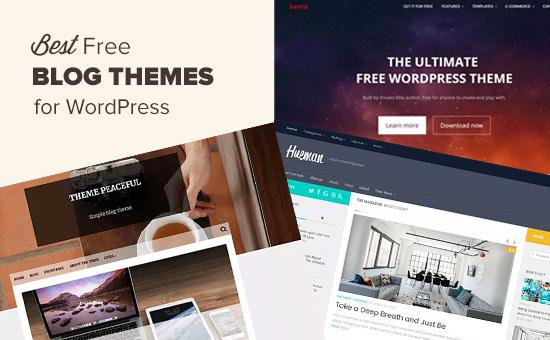 59 Best Free WordPress Blog Themes for 2018 (Expert Pick) - best free wordpress templates