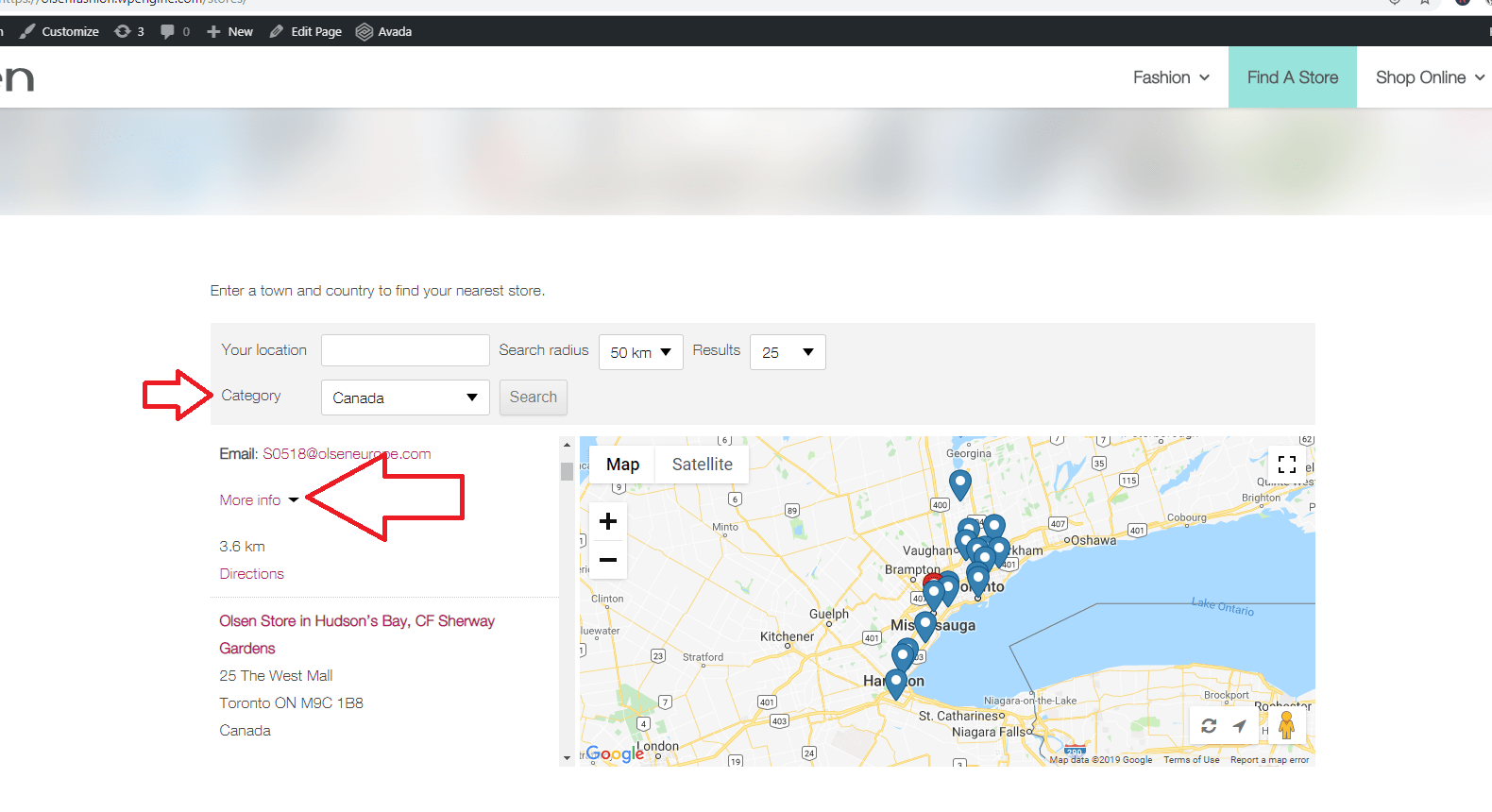 Store Finder Store Locator Translate Labels Wpml
