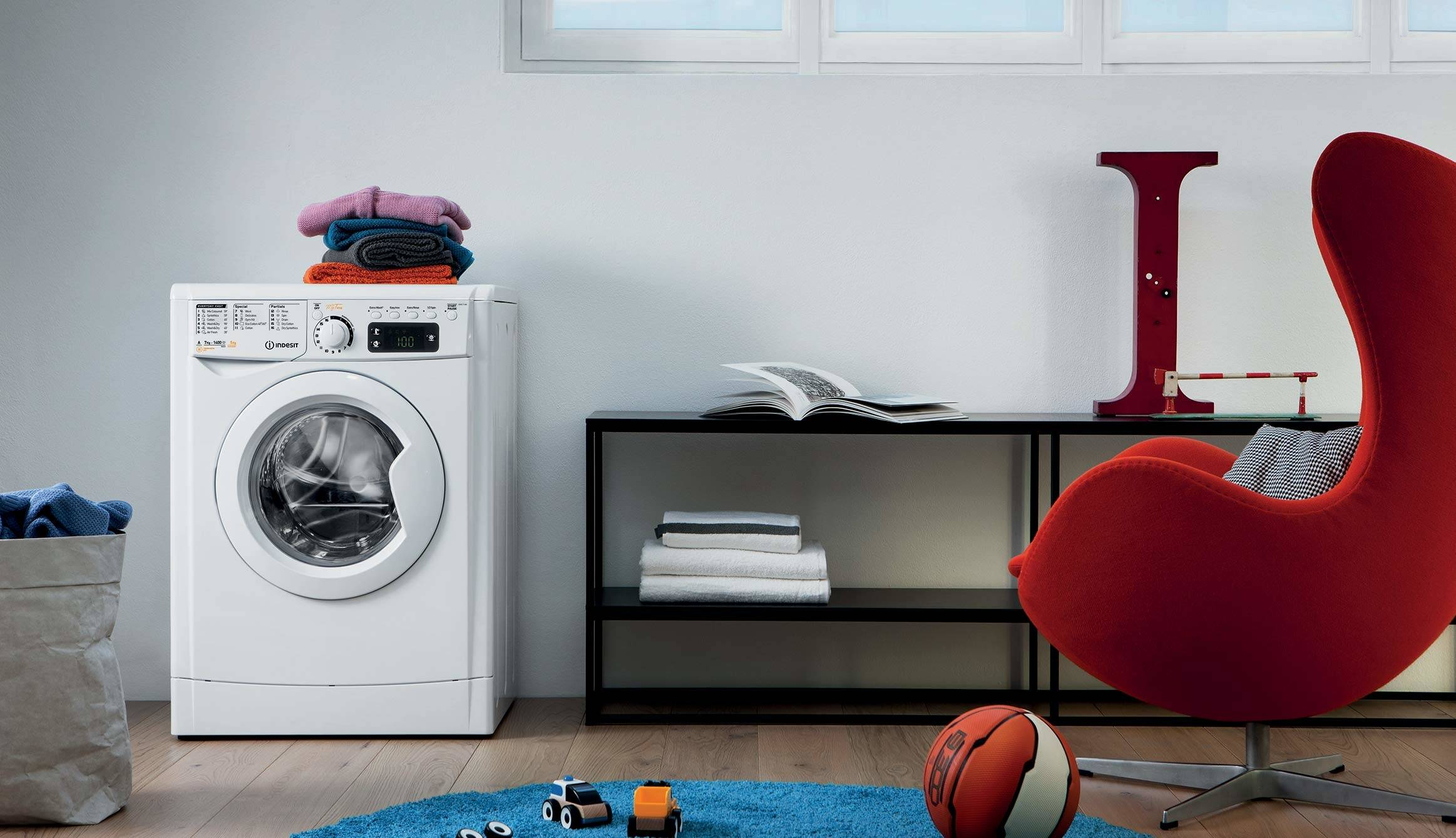 Indesit Innex Wasmachine Was-droogcombinatie: Energieklasse A+++ - My Time Indesit